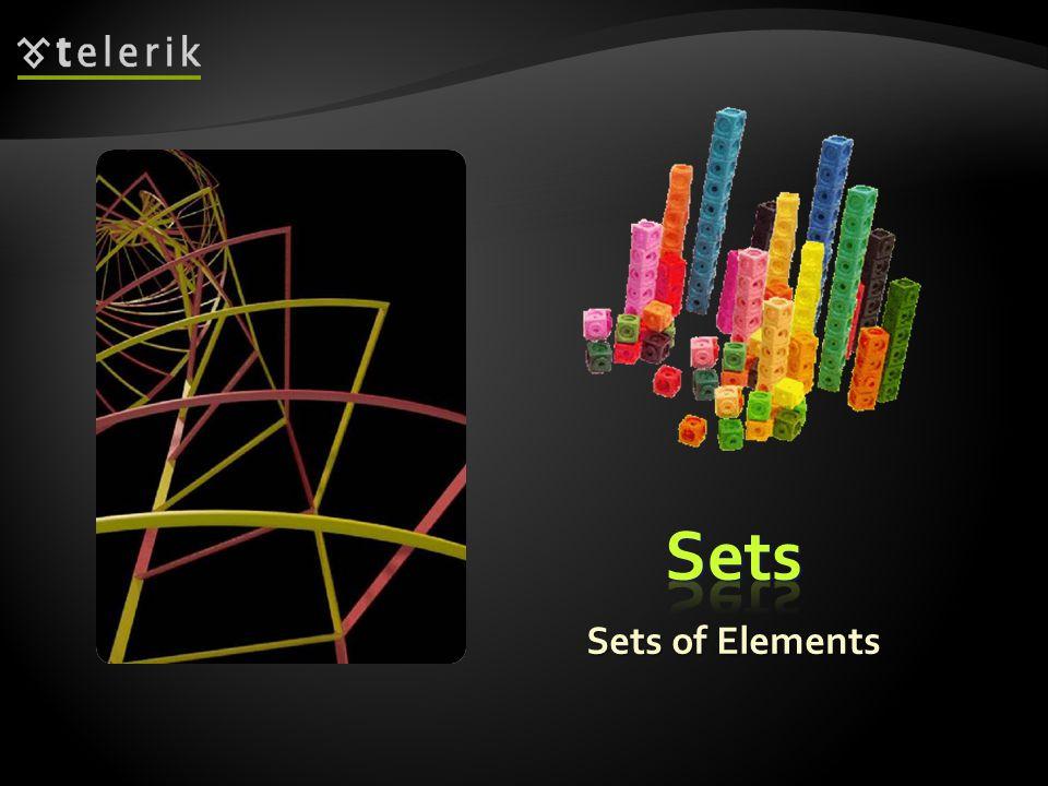 Sets of Elements