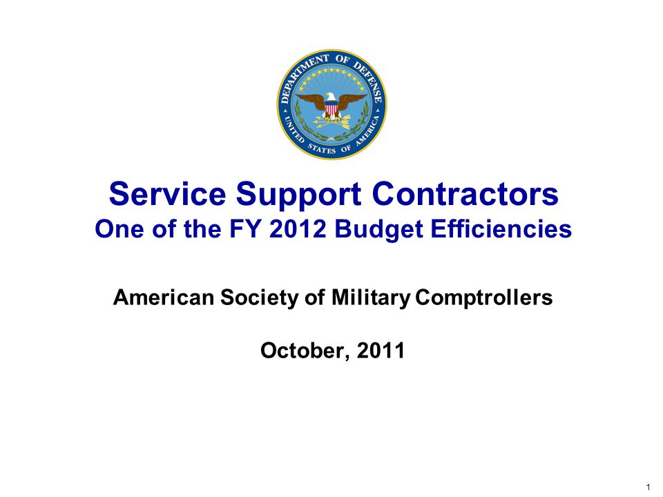 12 Service Support Contractor Reduction Original perception was the contractor workforce should have declined with the in-sourcing initiative but appeared to have grown The Secretary directed a reduction in service support contractors of 10 percent per year over the next 3 years from the reported FY 2010 level Defined service support contractors as contract personnel who provide support as staff augmentation This definition did not align to a specific object class so a survey was completed to gather the universe of these contracts The reduction was applied to a base of 26 thousand FTEs and $4.3 billion Annual savings of over $400 million and $6 billion over the FYDP