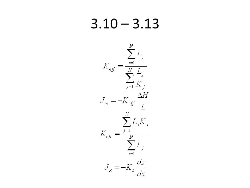 TABLE 3.4 Dimensionless coefficients for the polynomial (Equation 3.35) describing the geometric factor G, valid for H/r < 10 (Bosch and West, 1998) Soil texture/structureA1A1 A2A2 A3A3 A4A4 Sand0.0790.516-0.0480.002 Structured loams and clays0.0830.514-0.0530.002 Unstructured clays0.0940.489-0.0530.002