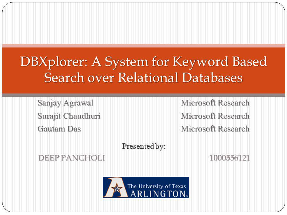 Introduction The two most common types of search are Structured Search and Keyword Based Search Example of Structured Search http://autos.yahoo.com/http://autos.yahoo.com/ A similar example is to search for books in booksellers database e.g.