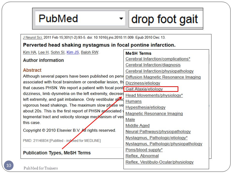10 PubMed for Trainers