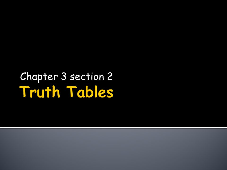 Chapter 3 section 2
