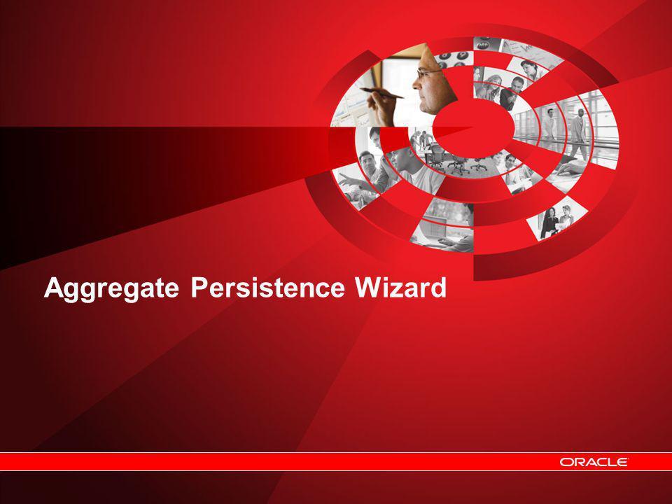 Aggregate Persistence Wizard