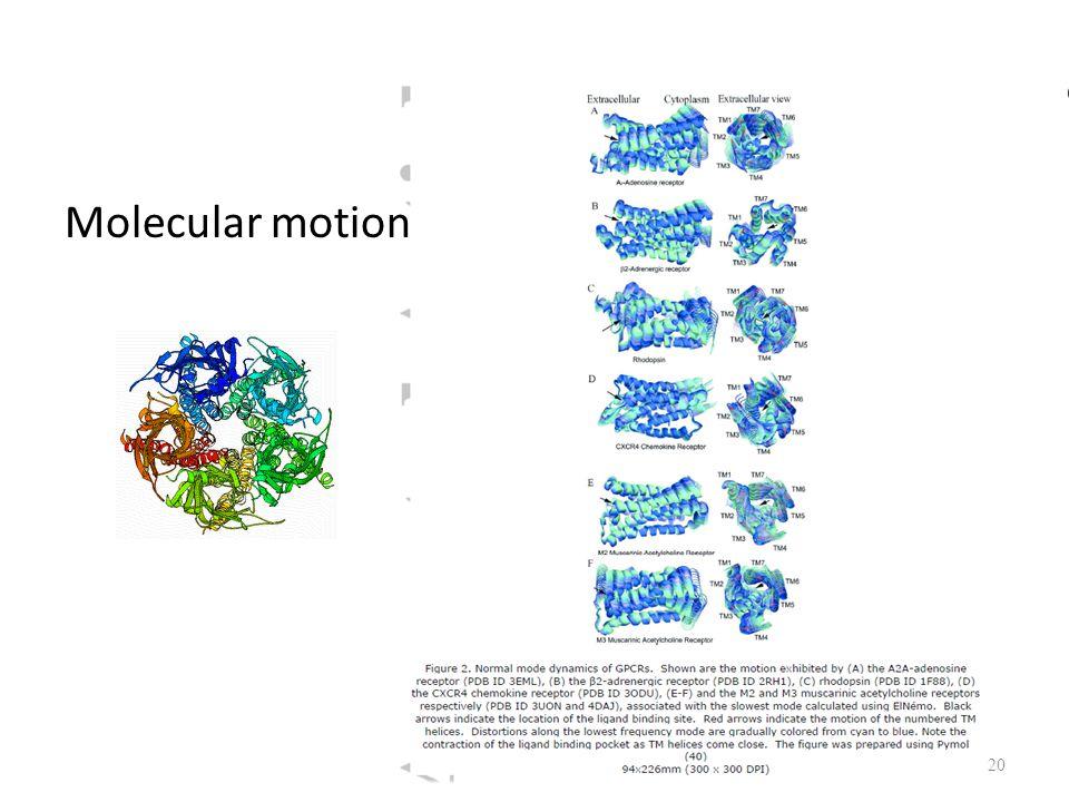 Molecular motion 20