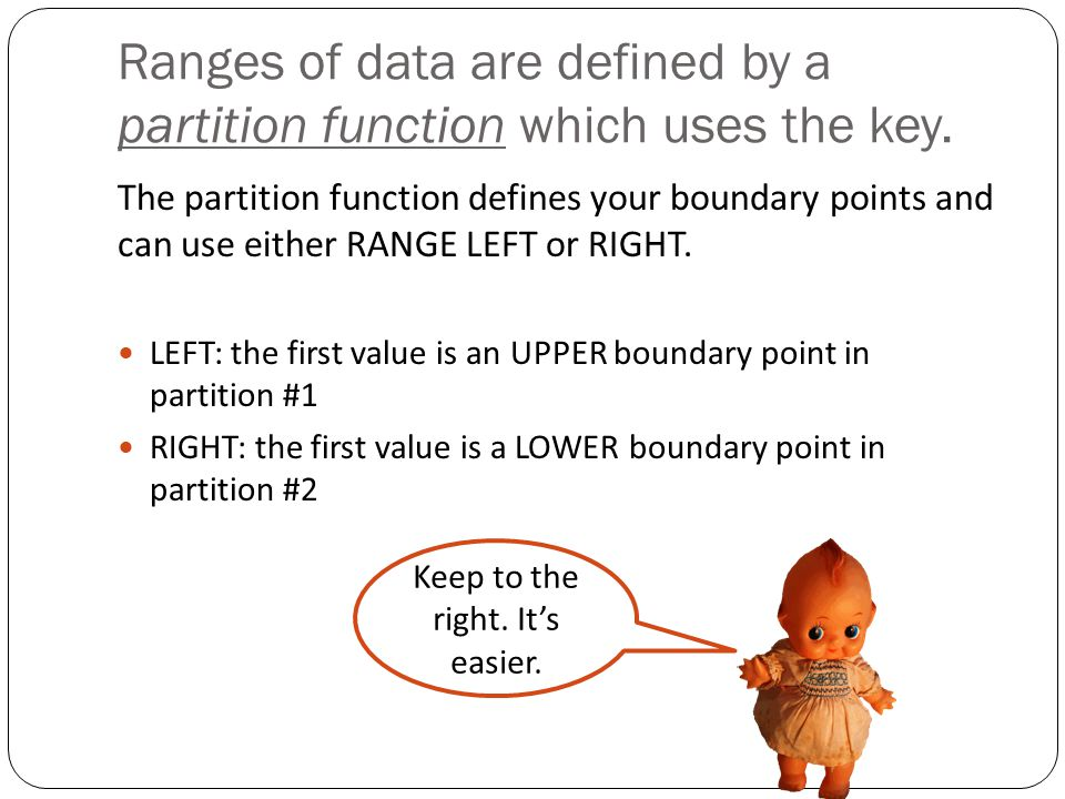 Creating a table on the partition scheme and add some rows.