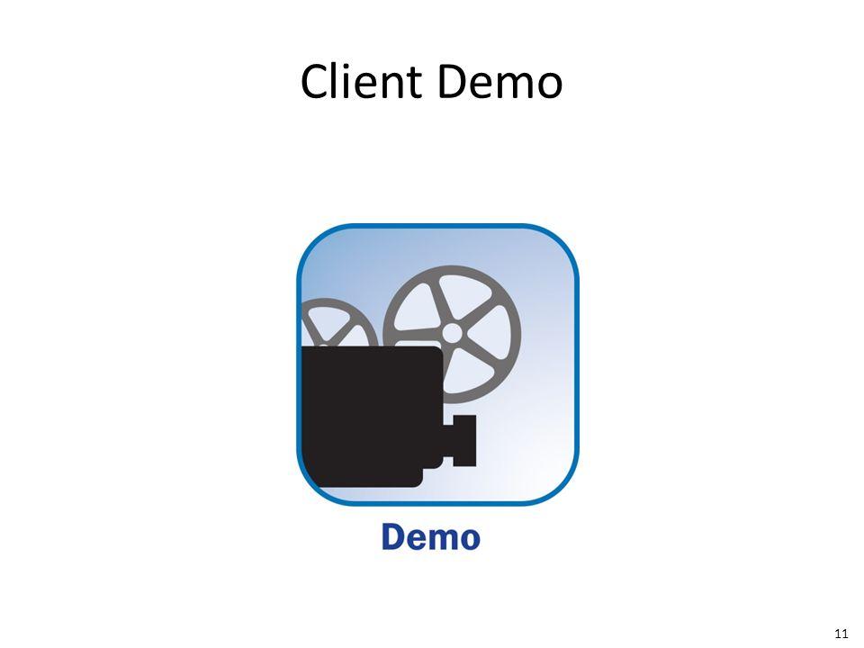 Client Demo 11