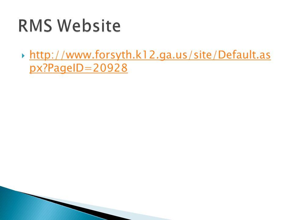 http://www.forsyth.k12.ga.us/site/Default.as px PageID=20928 http://www.forsyth.k12.ga.us/site/Default.as px PageID=20928