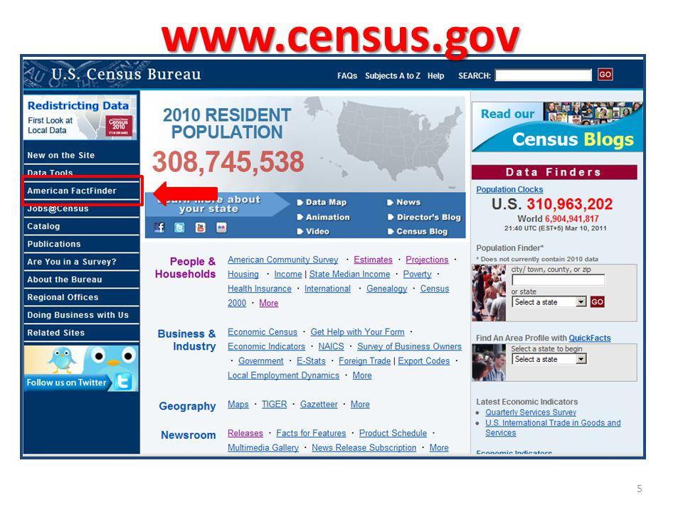 www.census.gov 5