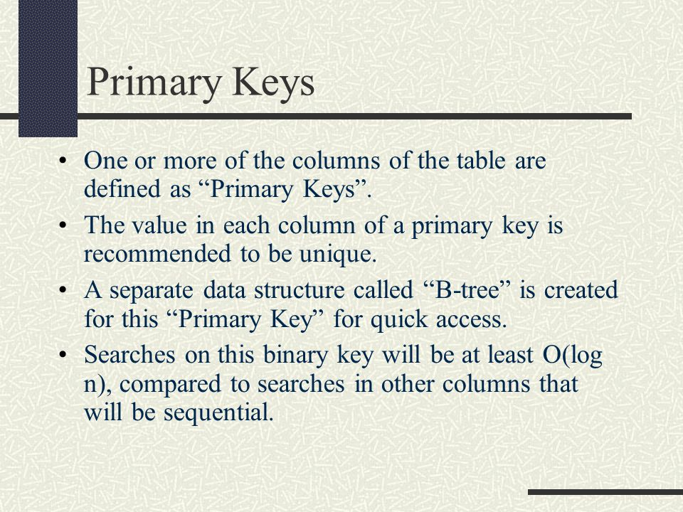 SQL by Example By convention SQL keywords are written in uppercase.