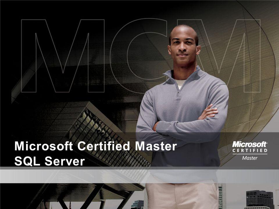 Microsoft Certified Master SQL Server
