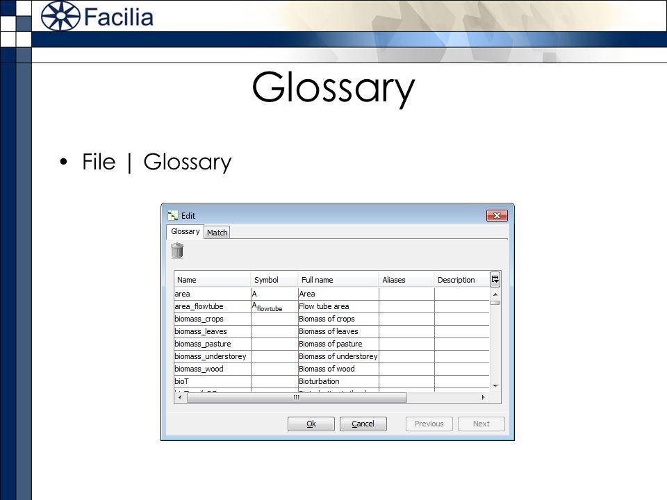 Glossary File | Glossary