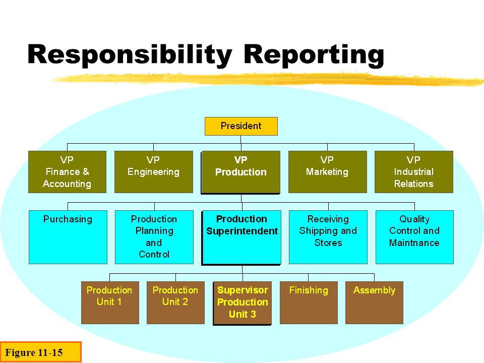 Responsibility Reporting Figure 11-15