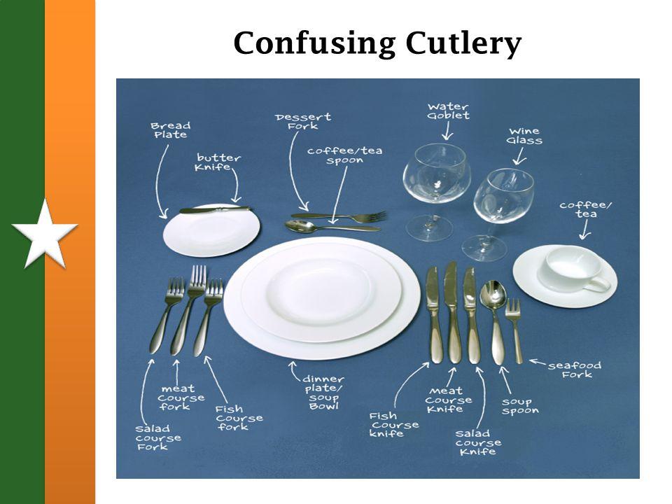 Confusing Cutlery