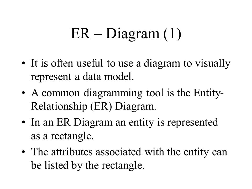 Comments of the Associative Entity (the n-n relationship) Notice that the relationship write now looks like an entity, and is shown with a dash outline.