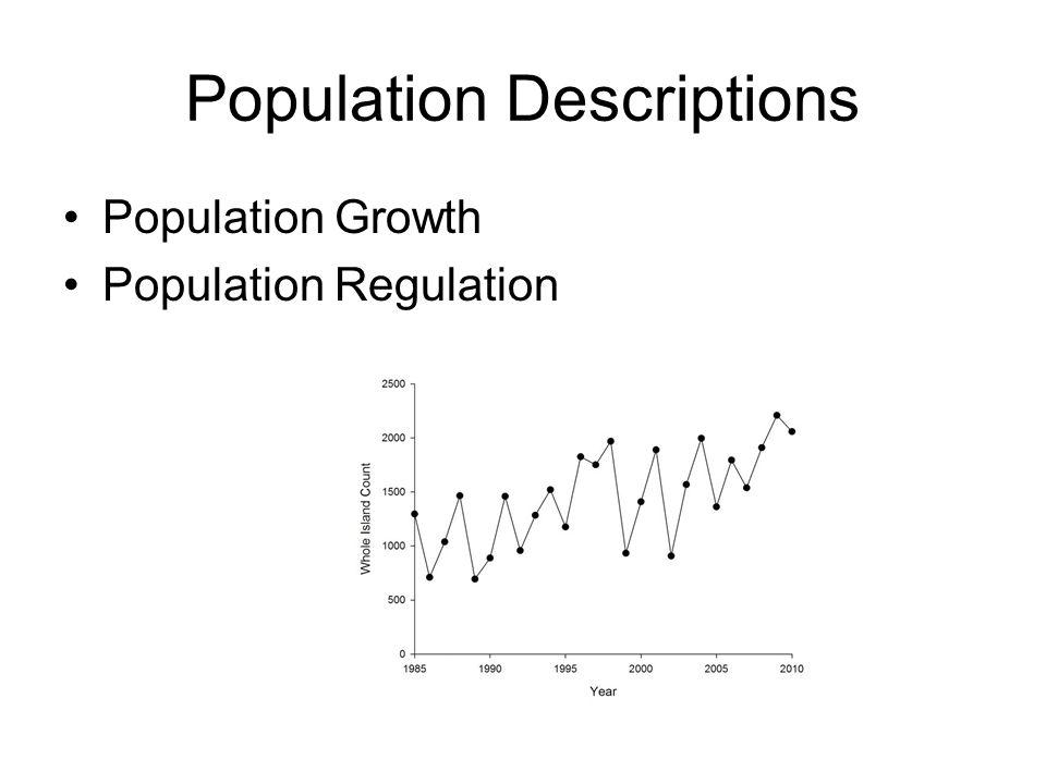 Main Functions (popbio) Estimate Population Growth Rate λ –lambda(A) Estimate Sensitivity, Elasticity, Damping Ratio –sensitivity(A) –elasticity(A) –damping.ratio(A) Full analysis of Leslie Matrix –eigen.analysis(A)