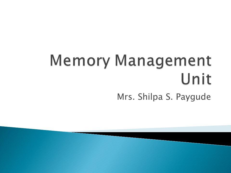 Mrs. Shilpa S. Paygude
