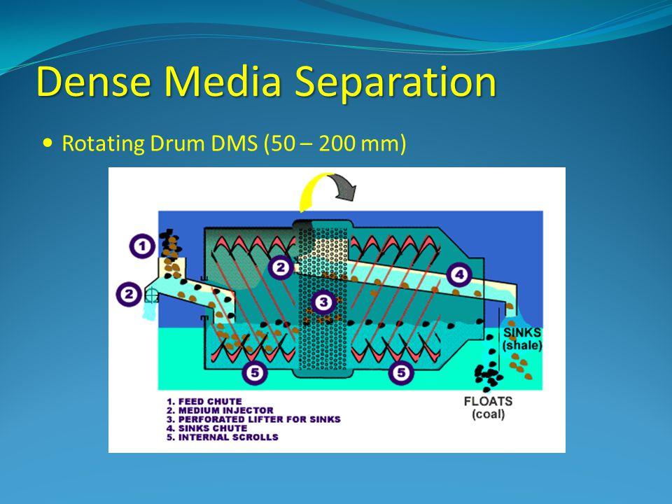 Dense Media Separation Rotating Drum DMS (50 – 200 mm)