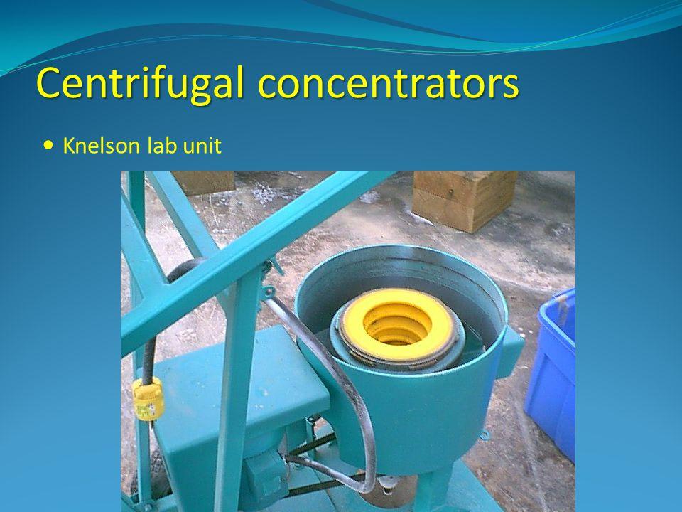 Centrifugal concentrators Knelson lab unit