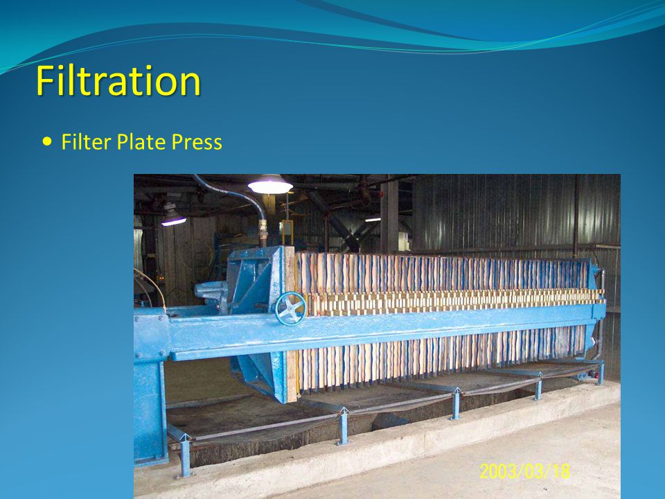 Filtration Filter Plate Press