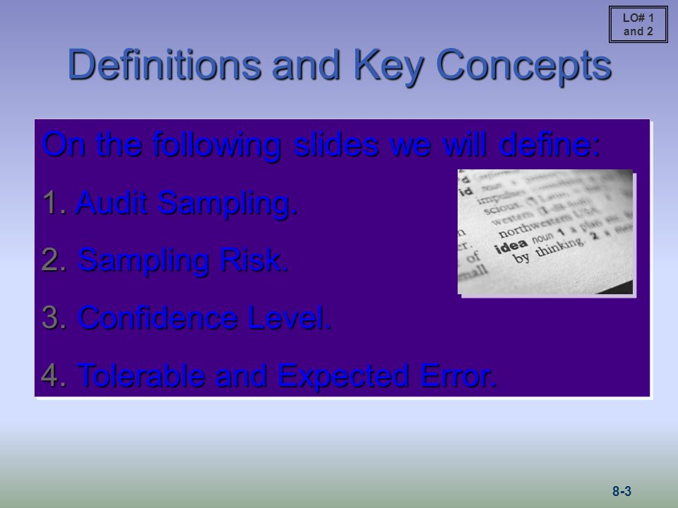 Types of Audit Sampling Auditing standards recognize and permit both statistical and nonstatistical methods of audit sampling.