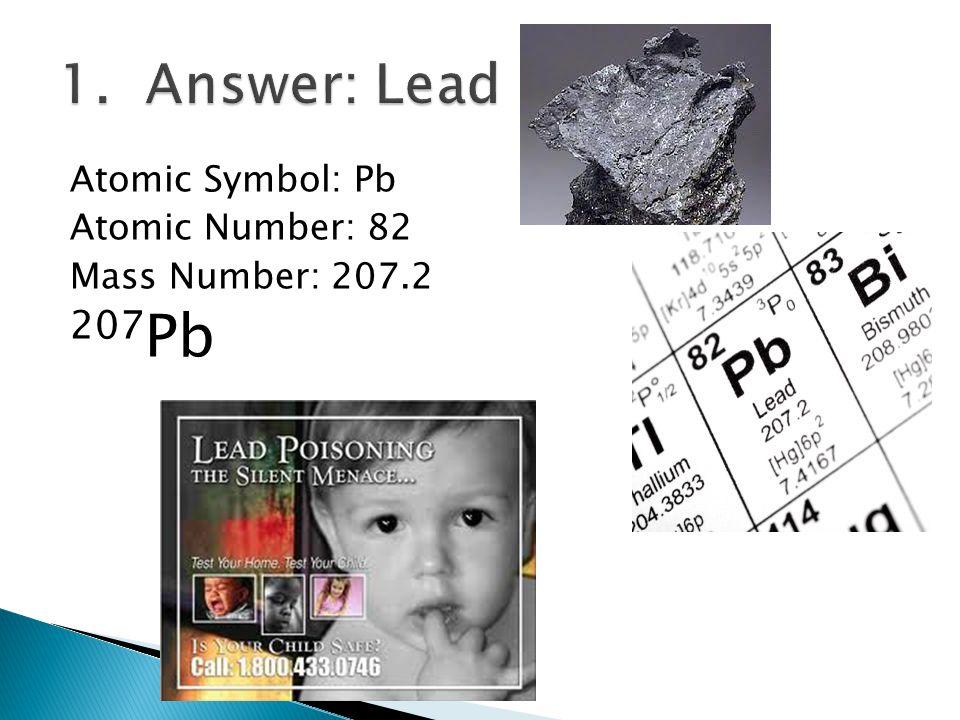 Atomic Symbol: Pt Atomic Number: 78 Mass Number: 195.08 195 Pt