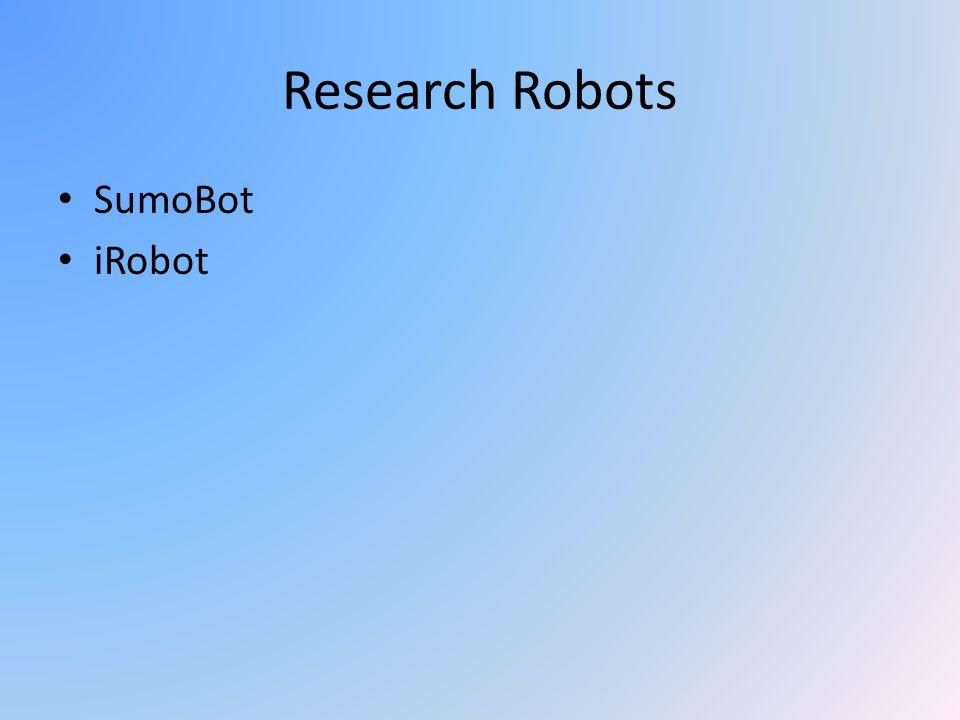 Research Robots SumoBot iRobot