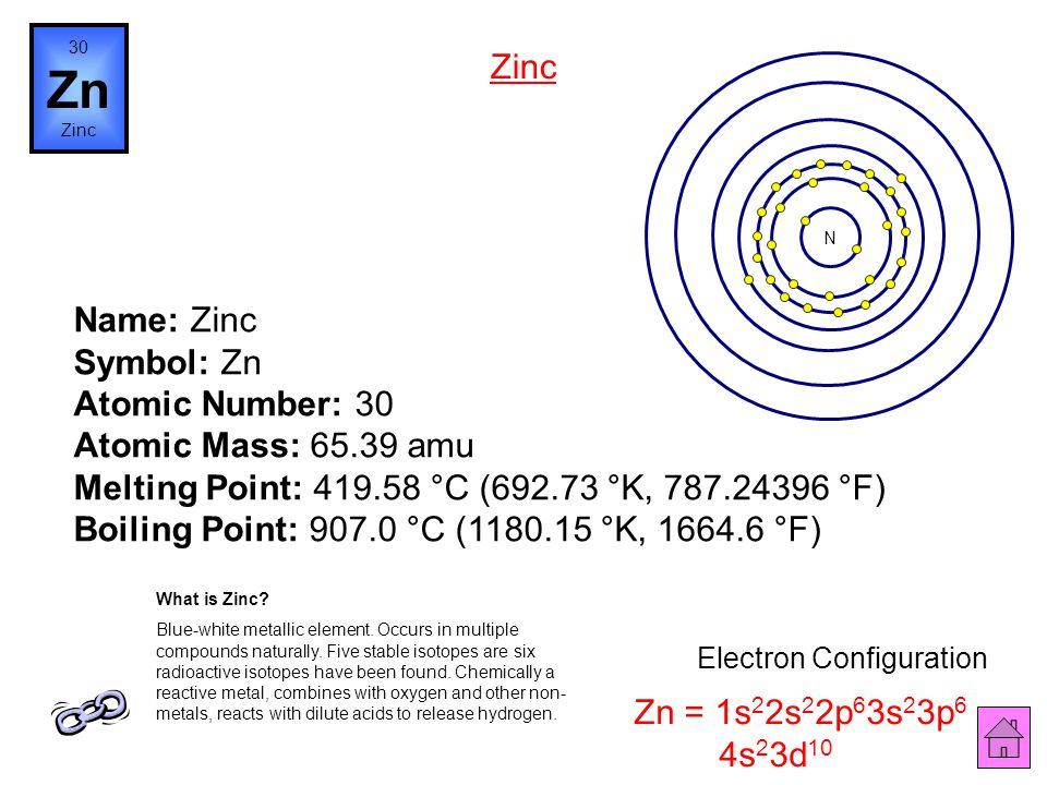 Name: Copper Symbol: Cu Atomic Number: 29 Atomic Mass: 63.546 amu Melting Point: 1083.0 °C (1356.15 °K, 1981.4 °F) Boiling Point: 2567.0 °C (2840.15 °