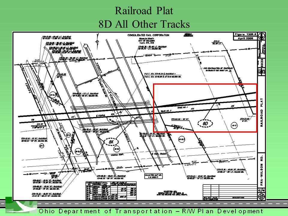 409 Railroad Plat 8D All Other Tracks