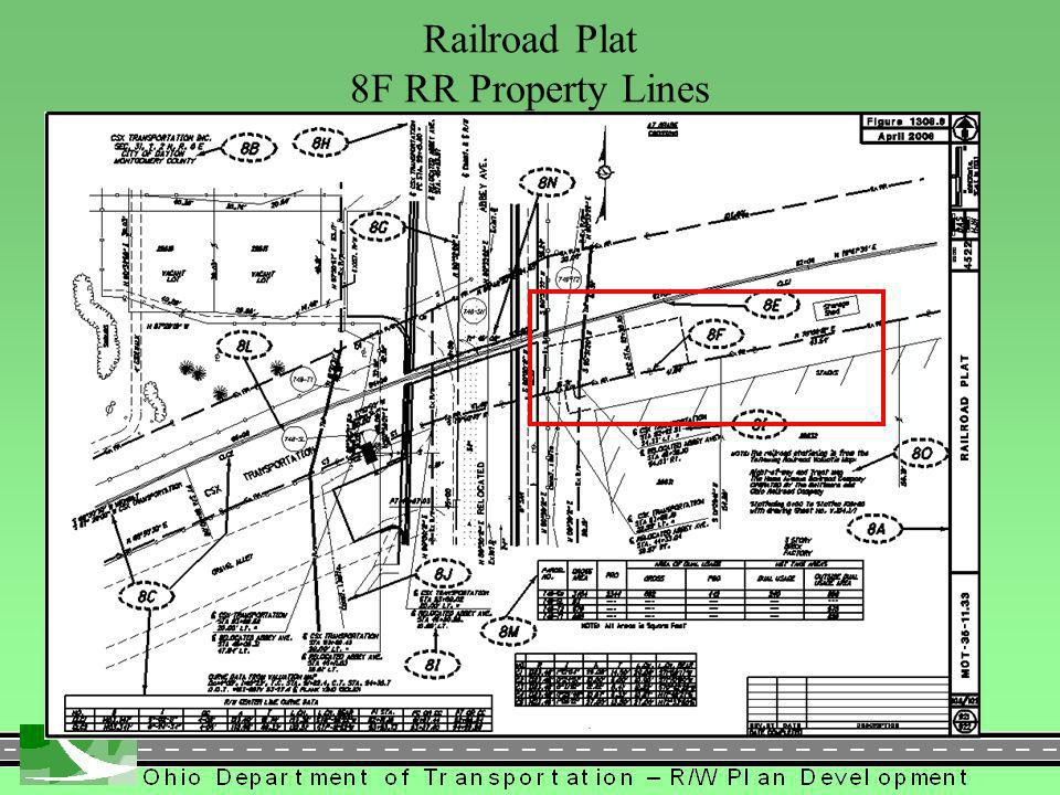 413 Railroad Plat 8F RR Property Lines