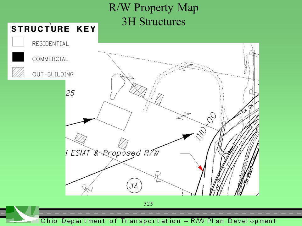 325 R/W Property Map 3H Structures