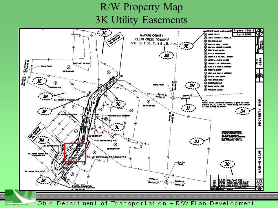328 R/W Property Map 3K Utility Easements