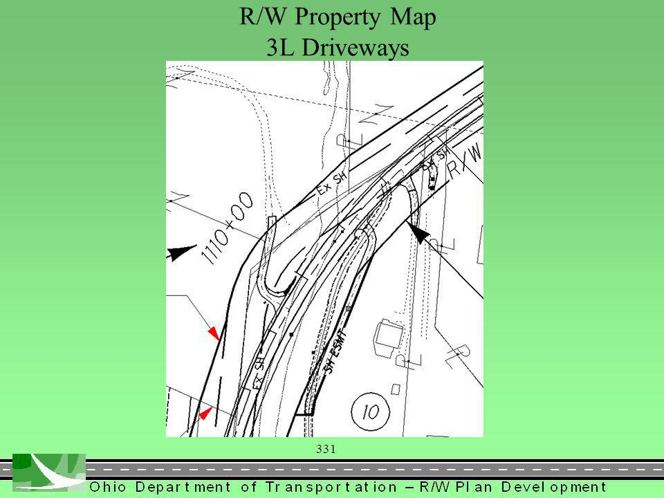 331 R/W Property Map 3L Driveways