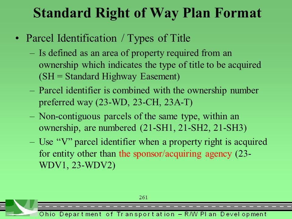 362 Summary of Additional Right of Way (Sht 4) 4Q Temporary Parcel Duration