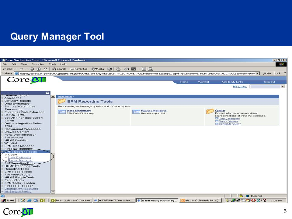 5 Query Manager Tool