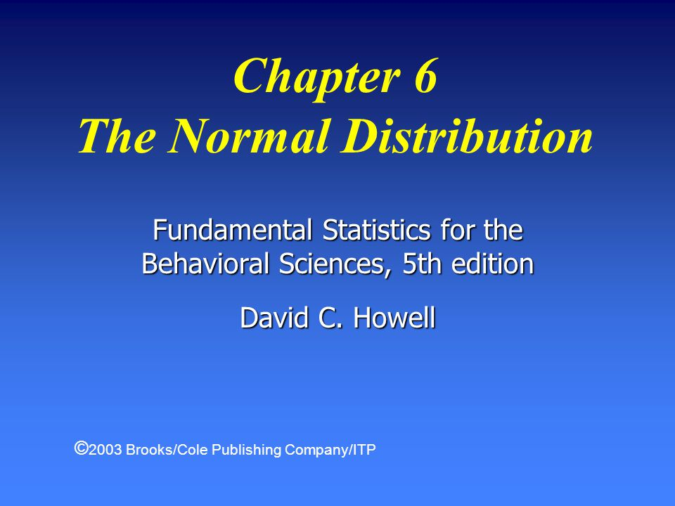 22Chapter 6 The Normal Distribution Review Questions --cont.