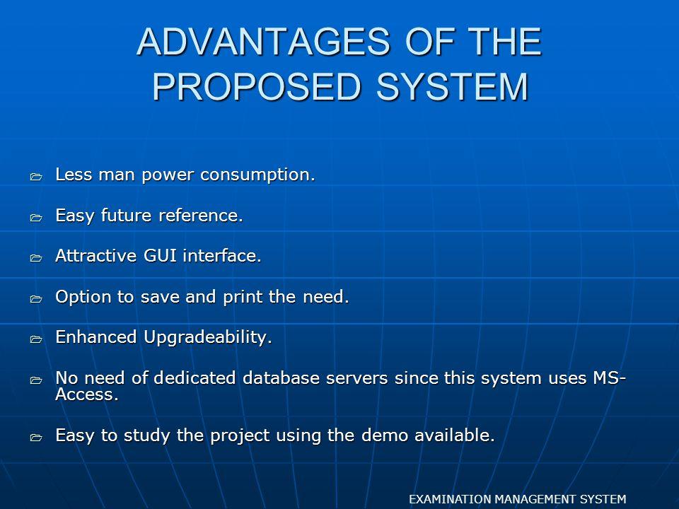 REGNO SEARCH EXAMINATION MANAGEMENT SYSTEM FORM DESIGN