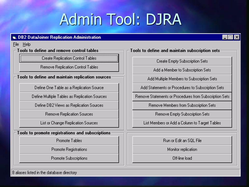 Admin Tool: DJRA