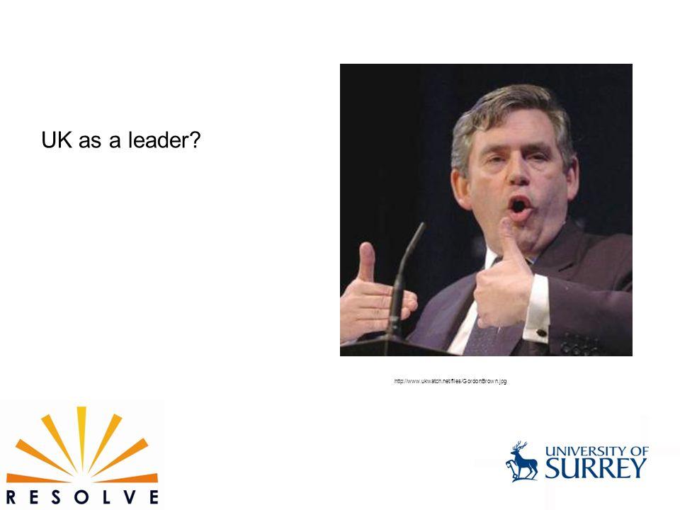 UK as a leader http://www.ukwatch.net/files/GordonBrown.jpg