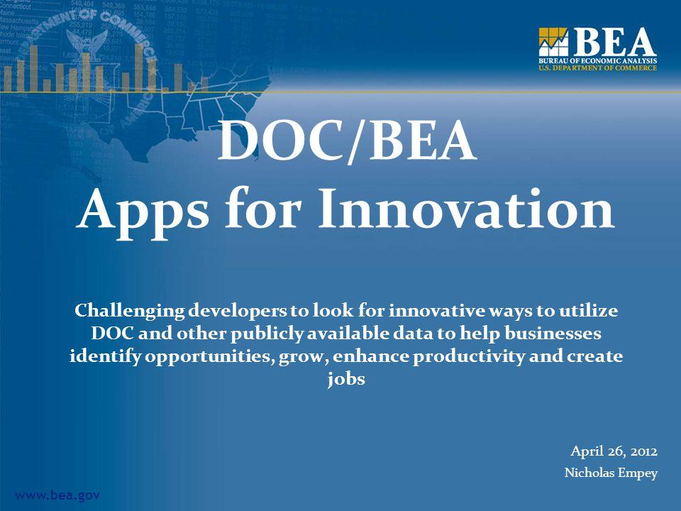 www.bea.gov BEARFacts Downloadable as.pdf files 12
