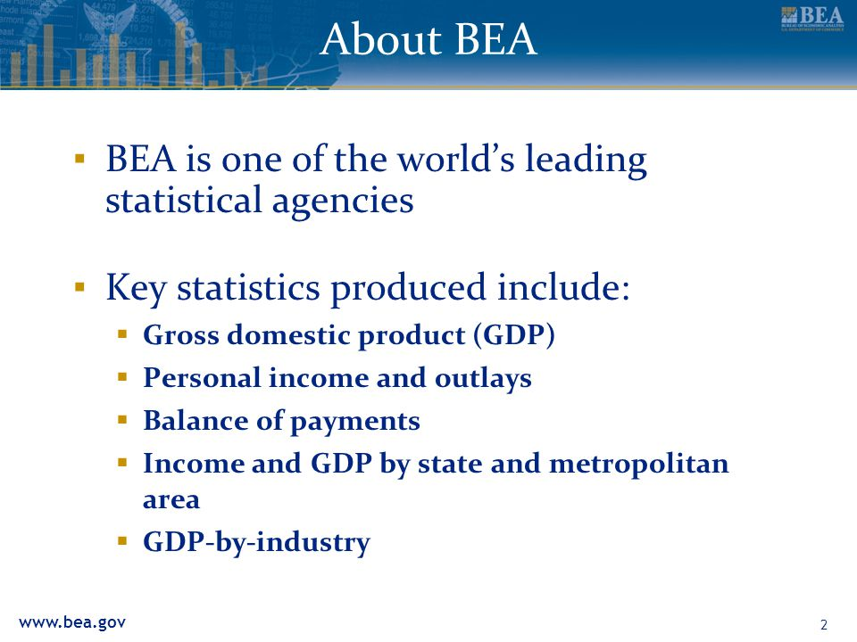 www.bea.gov 13 Interactive Tables Interactive tablesthe easiest way to access BEA data