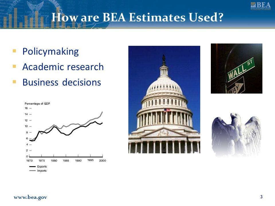 www.bea.gov BEA Regional Data 4 Personal Income (State, Metropolitan Area, County, Economic Area) Gross Domestic Product (State and Metropolitan Area) RIMS Multipliers (Custom Areas)