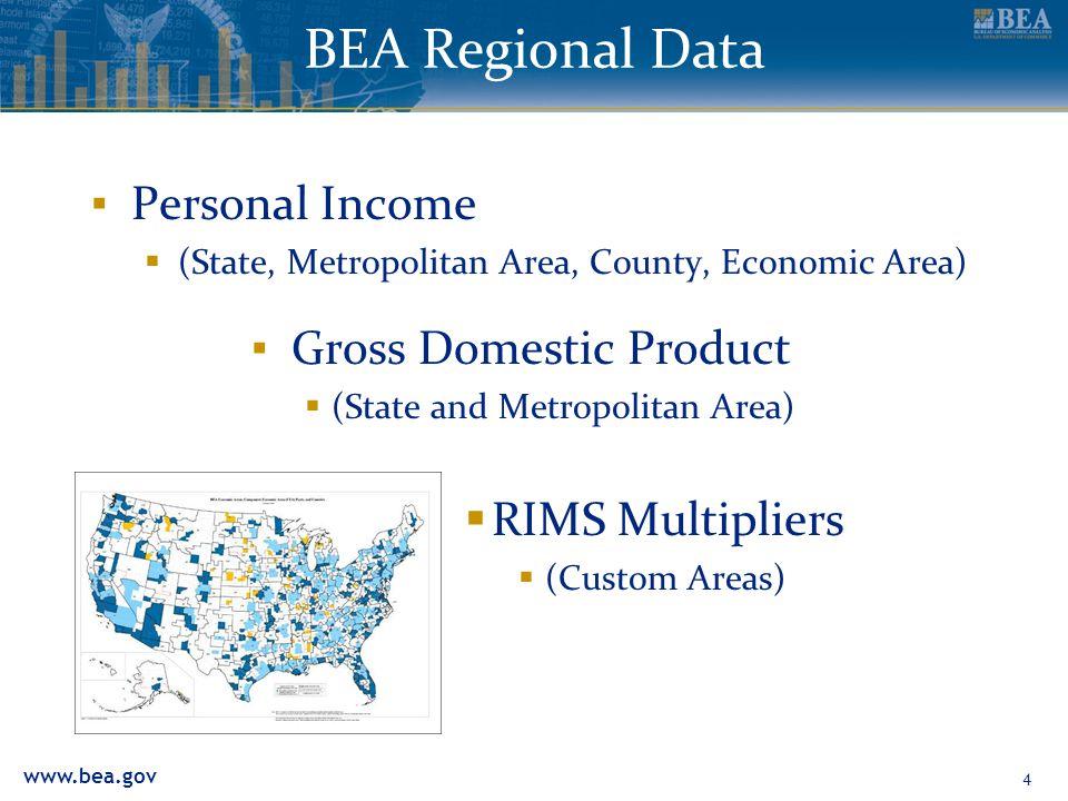 www.bea.gov Personal Income 5