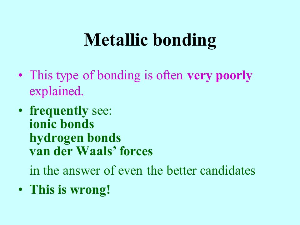 –N is in Group 5, so five outer electrons –3 more electrons (1 from each H) –Makes 8 electrons –4 pairs of electrons –3 bonding pairs and 1 lone pair Basic shape (4 e - pairs) = tetrahedral –One lone pair, so doesnt have basic shape –3 bonding pairs + 1 lone pair Working out the shape of NH 3