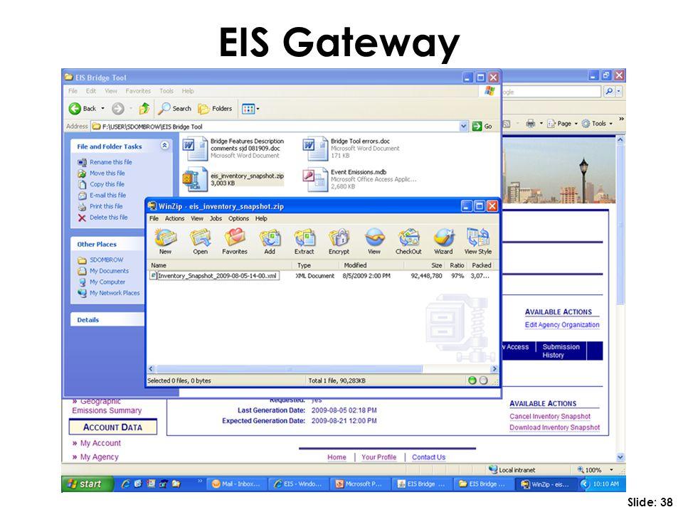 EIS Gateway Slide: 38