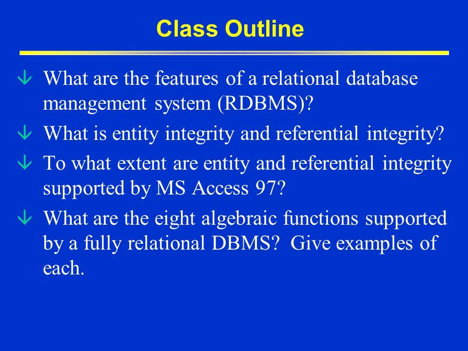 Relational Database Management Systems â Relational database architecture Codd, E.F.