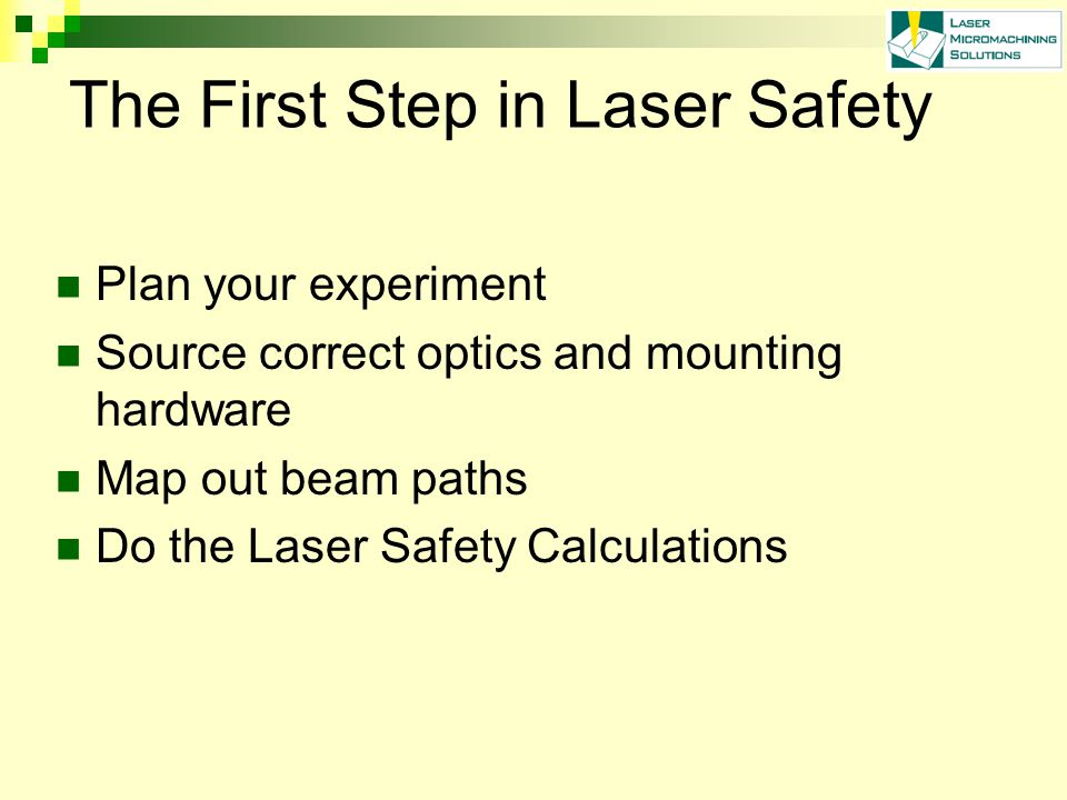 Other Lab Hazards - Gases Vacuum system – implosion issues with glass vessels.