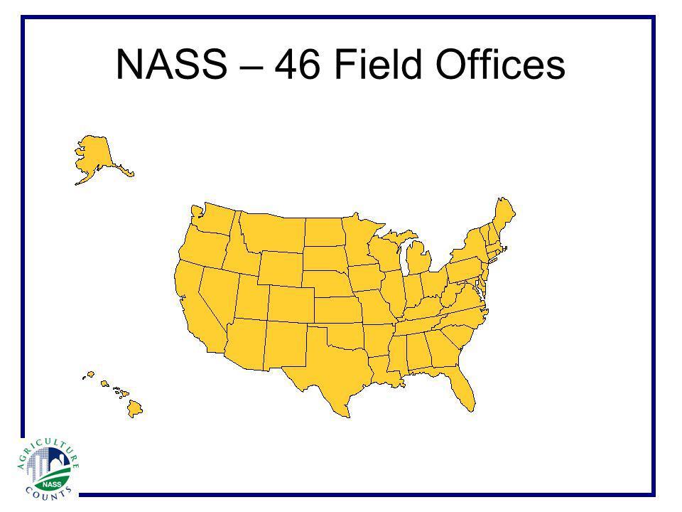 NASS – 46 Field Offices