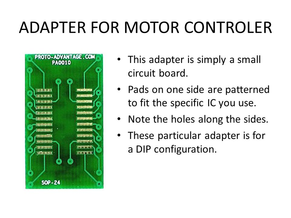 SURFACE MOUNT TECHNOLOGY This new design will use SMT chips Hand soldering of these chips is difficult but not impossible. It is also possible to flow
