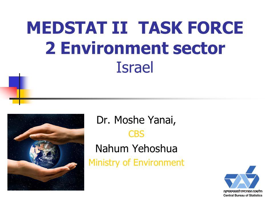 MEDSTAT II TASK FORCE 2 Environment sector Israel Dr.