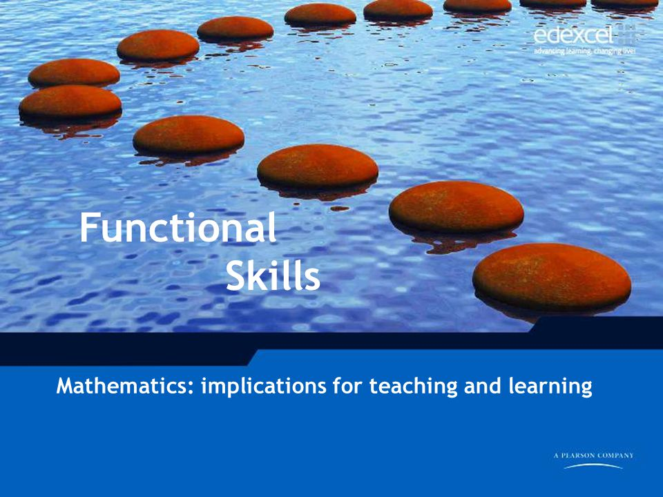 Functional Skills Mathematics: implications for teaching and learning
